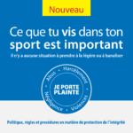Protection de l'intégrité en contexte sportif      Lancement aujourd'hui d'une politique cadre