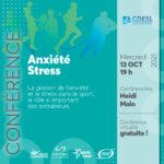 Conférence - Anxiété et Stress